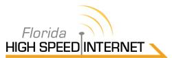 Florida High Speed Internet logo.