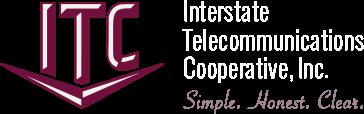 Interstate Telecommunications Cooperative logo.