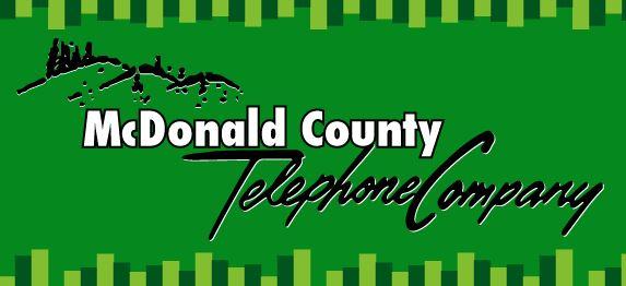 McDonald County Telephone Company logo.