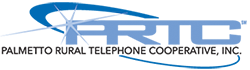 Palmetto Rural Telephone Cooperative logo.