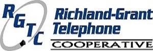 Richland-Grant Telephone Cooperative logo.