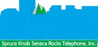 Spruce Knob Seneca Rocks Telephone logo.