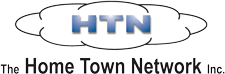 The Home Town Network logo.