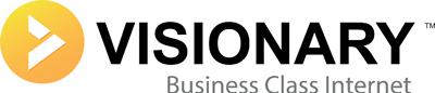 Visionary Communications logo.