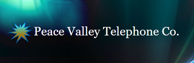 Peace Valley Telephone Company logo