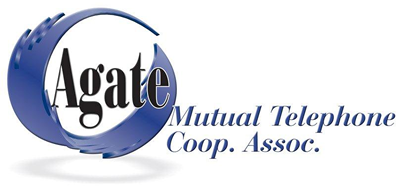 Agate Mutual Telephone Cooperative Association logo