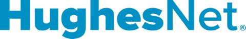 HughesNet logo.