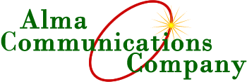 Alma Communications Company logo