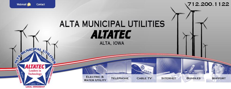 Alta Municipal Utilities logo