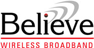 Believe Wireless Broadband logo