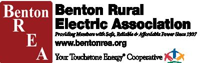 Benton REA PowerNET logo