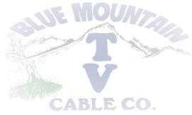 Blue Mountain Cable Co. logo