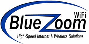 Blue Zoom WiFi logo