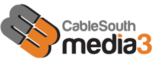 CableSouth Media 3 logo
