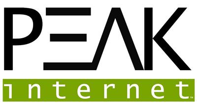 Peak Internet Oregon logo