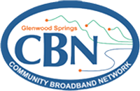 Glenwood Springs Community Broadband Network logo