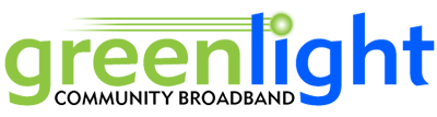 Greenlight Community Broadband in Wilson logo
