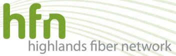 Highlands Fiber Network logo
