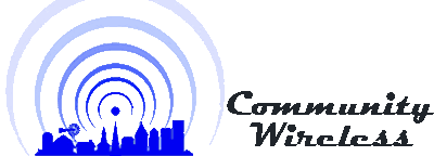 Community Wireless logo