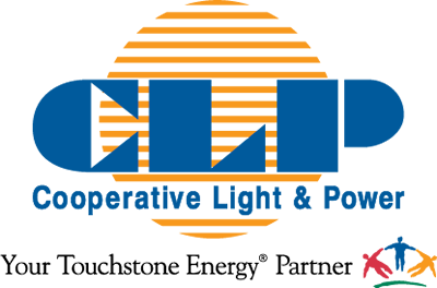 Cooperative Light & Power logo.