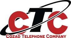 Cozad Telephone Company logo