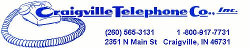 Craigville Telephone Company logo