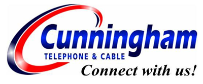 Cunningham Telephone & Cable  logo