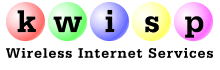 KWISP Wireless Internet logo