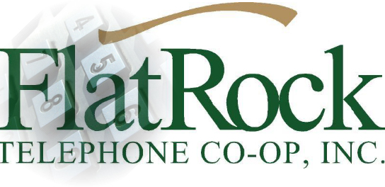 Flat Rock Telephone Co-Op logo.