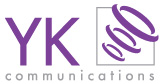 YK Communications logo