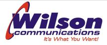 Wilson Communications logo