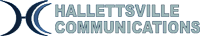 Hallettsville Communications logo