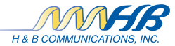 H&B Communications logo