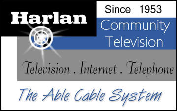 Harlan Community Television logo