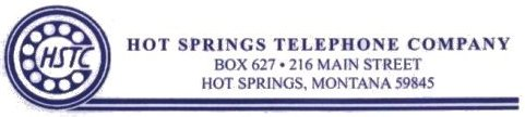 Hot Springs Telephone Company logo