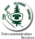 Pine Drive Telephone Company logo
