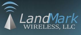 Landmark Wireless logo.