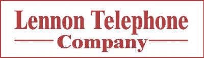Lennon Telephone Company logo