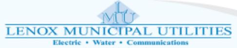 Lenox Municipal Utilities logo