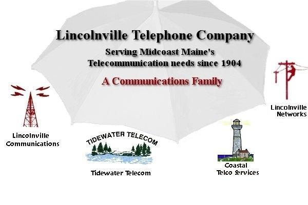 Lincolnville Telephone Company logo.