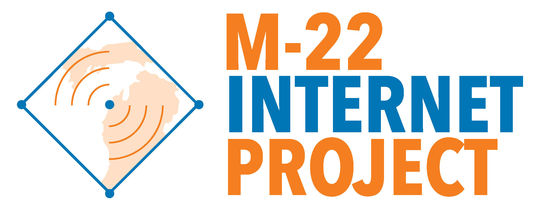 M-22 Internet Project logo
