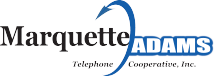 Marquette-Adams Telephone Cooperative logo.