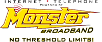 Monster Broadband logo