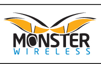 Monster Wireless Internet logo