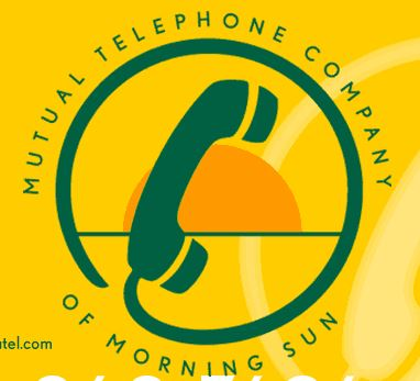 Mutual Telephone Company of Morning Sun logo