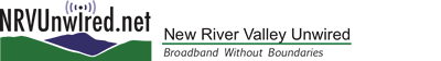 NRV UNWIRED logo