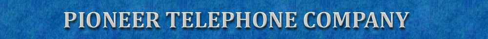 Pioneer Telephone Company logo