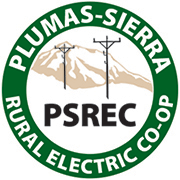 Plumas-Sierra Rural Electric Cooperative logo