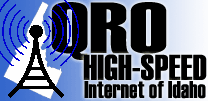 QRO High-Speed Internet of Idaho logo