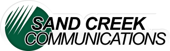 Sand Creek Communications Company logo
